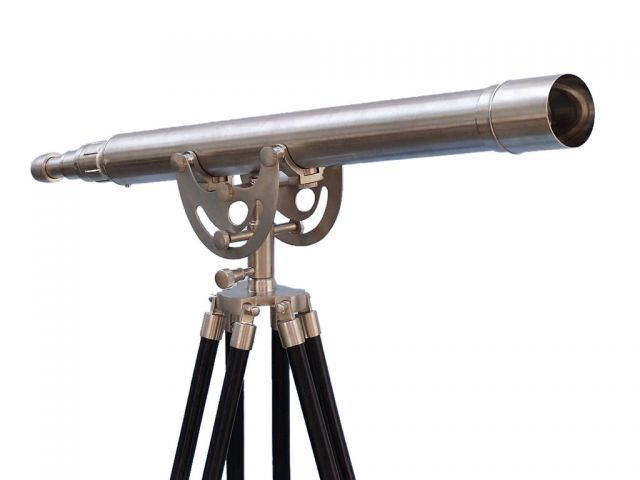 Floor Standing Brushed Nickel Anchormaster Telescope 50