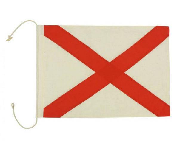 Letter V Cloth Nautical Alphabet Flag Decoration 20