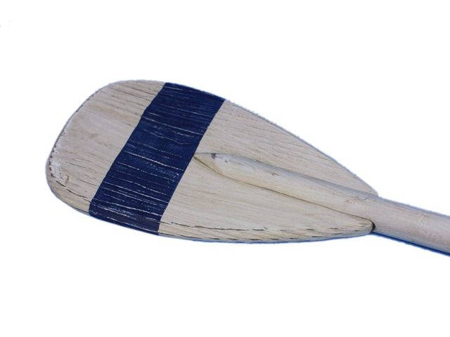 Wooden King Harbor Decorative Rowing Boat Paddle with Hooks 36