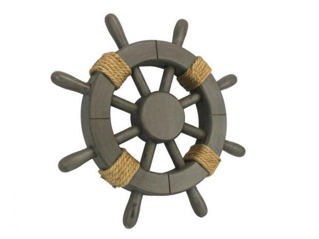 Antique Decorative Ship Wheel 12