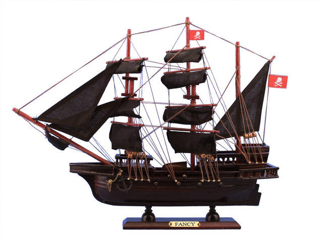 Wooden Henry Averys The Fancy Model Pirate Ship 20
