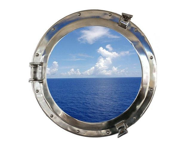 Chrome Decorative Ship Porthole Window 20