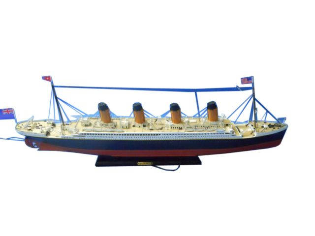 RMS Titanic Limited Model Cruise Ship 30