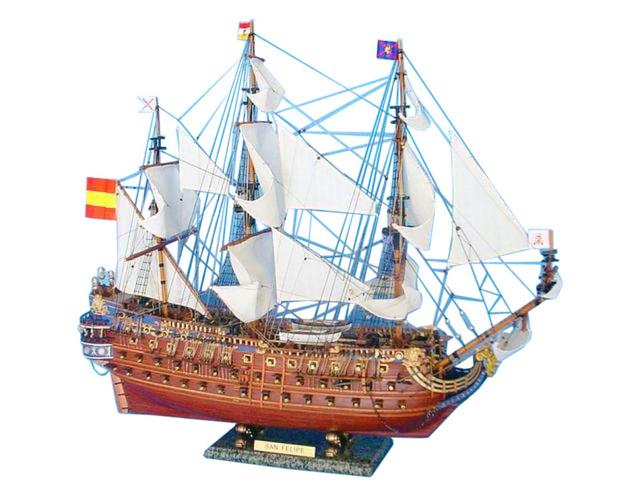 San Felipe Limited Tall Model Ship 30