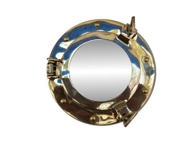 Brass Decorative Ship Porthole Mirror 8