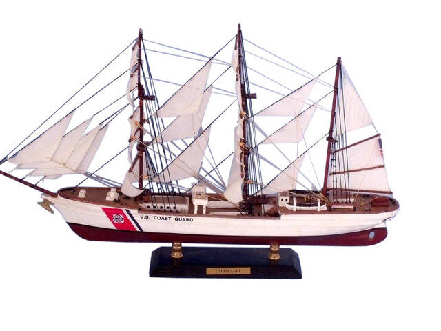 United States Coast Guard (USCG) Eagle Limited Tall Model Ship 21