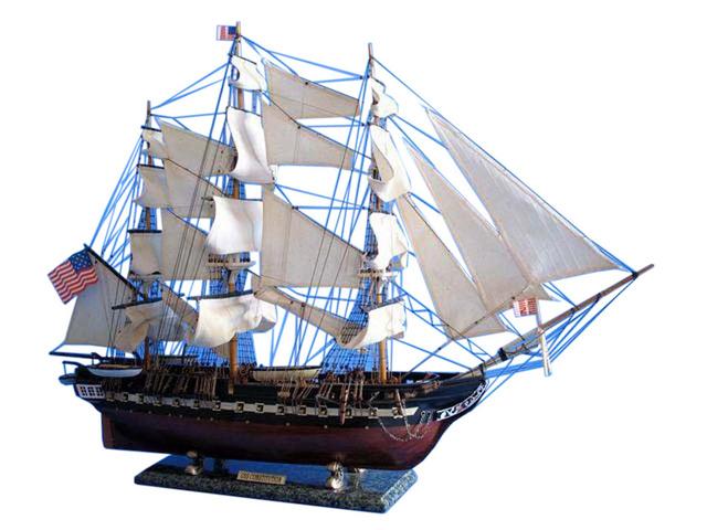 USS Constitution Tall Model Ship 38