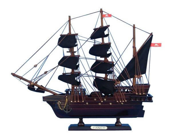 Wooden Henry Averys The Fancy Model Pirate Ship 14