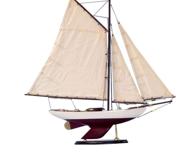 Wooden Bermuda Sloop Decoration 26