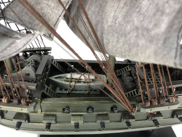 Wholesale Wooden Flying Dutchman Limited Model Pirate Ship 26in Hampton Nautical