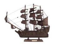 Wooden Flying Dutchman Model Pirate Ship 14\