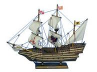 Wooden Mel Fisher\'s Atocha Model Ship 14\