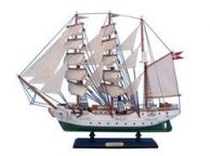 Wooden Danmark Tall Model Ship 20