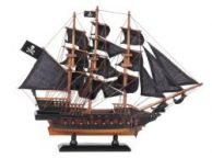 Wooden Captain Kidds Adventure Galley Black Sails Limited Model Pirate Ship 15