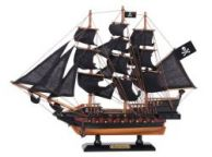 Wooden Captain Kidds Black Falcon Black Sails Limited Model Pirate Ship 15