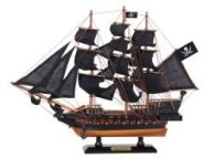 Wooden Black Pearl Black Sails Limited Model Pirate Ship 15