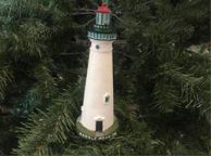 Marble Head Lighthouse Christmas Tree Decoration 7\