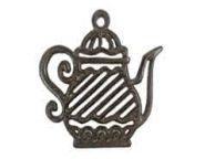 Cast Iron Teapot Trivet 9