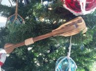 Wooden Westminster Decorative Squared Rowing Boat Oar Christmas Ornament 12