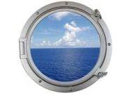 Silver Decorative Ship Porthole Window 24