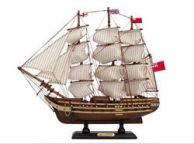 Wooden Master And Commander HMS Surprise Tall Model Ship 14