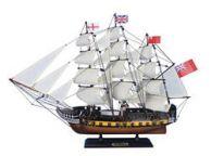 Wooden HMS Surprise Master and Commander Model Ship 24\