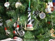 Cape Hatteras Lighthouse Christmas Tree Ornament