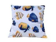 Decorative Butterfly Fish Throw Pillow 16\