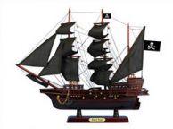 Wooden Black Pearl Black Sails Pirate Ship Model 20