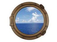 Bronzed Decorative Ship Porthole Window 20