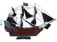Blackbeard\'s Queen Anne\'s Revenge Model Pirate Ship Limited 24\