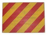 Letter Y Rustic Wooden Nautical Alphabet Flag Decoration 16
