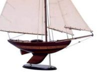 Wooden Old Ironsides Sloop Decoration 40