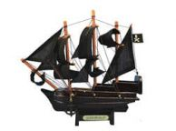 Wooden Captain Kidds Adventure Galley Model Pirate Ship 7