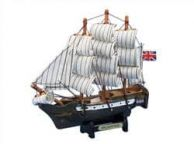 Wooden Master And Commander HMS Surprise Tall Model Ship 7\