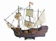 Wooden Santa Maria Tall Model Ship 14\