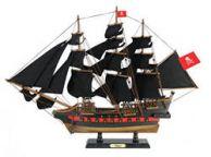 Wooden Henry Averys Fancy Black Sails Limited Model Pirate Ship 26
