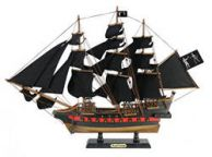 Wooden Black Barts Royal Fortune Black Sails Limited Model Pirate Ship 26