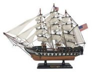 Wooden USS Constitution Limited Tall Ship Model 15\