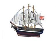 Wooden Cutty Sark Tall Model Clipper Ship Magnet 4
