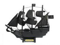 Wooden Flying Dutchman Model Pirate Ship 7