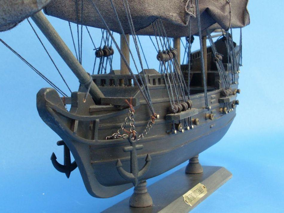 Buy Wooden Flying Dutchman Model Pirate Ship 20in Model Ships