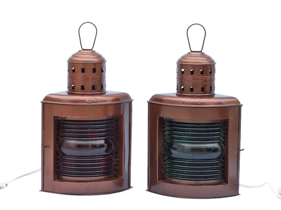 Antique port and starboard lanterns non toxic varnish remover