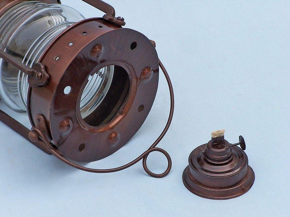 Buy Antique Copper Anchormaster Oil Lantern 15in ...