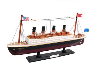 Wooden RMS Titanic Model Cruise Ship 14\