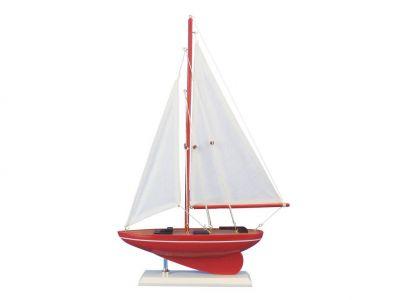 Wooden Compass Rose Model Sailboat 17\
