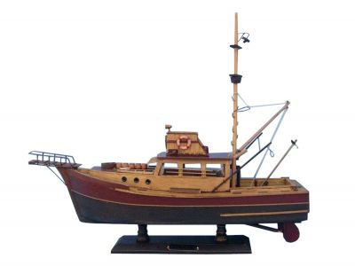 Wooden Jaws - Orca Model Boat 20\