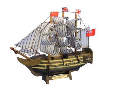 Wooden HMS Victory Tall Model Ship 7\