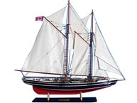 Wooden Bluenose Limited Model Sailboat 35