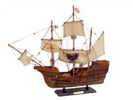 Wooden Santa Maria Limited Tall Model Ship 20